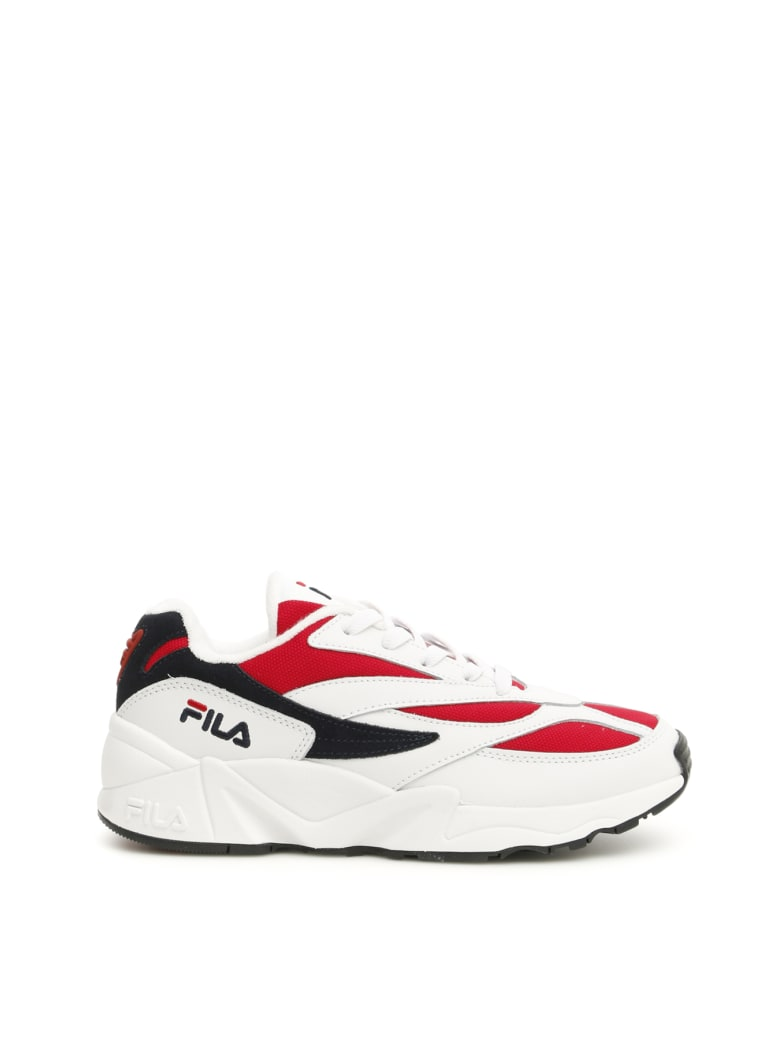 Fila Low V94m Sneakers - WHITE FILA NAVY FILA RED (White)
