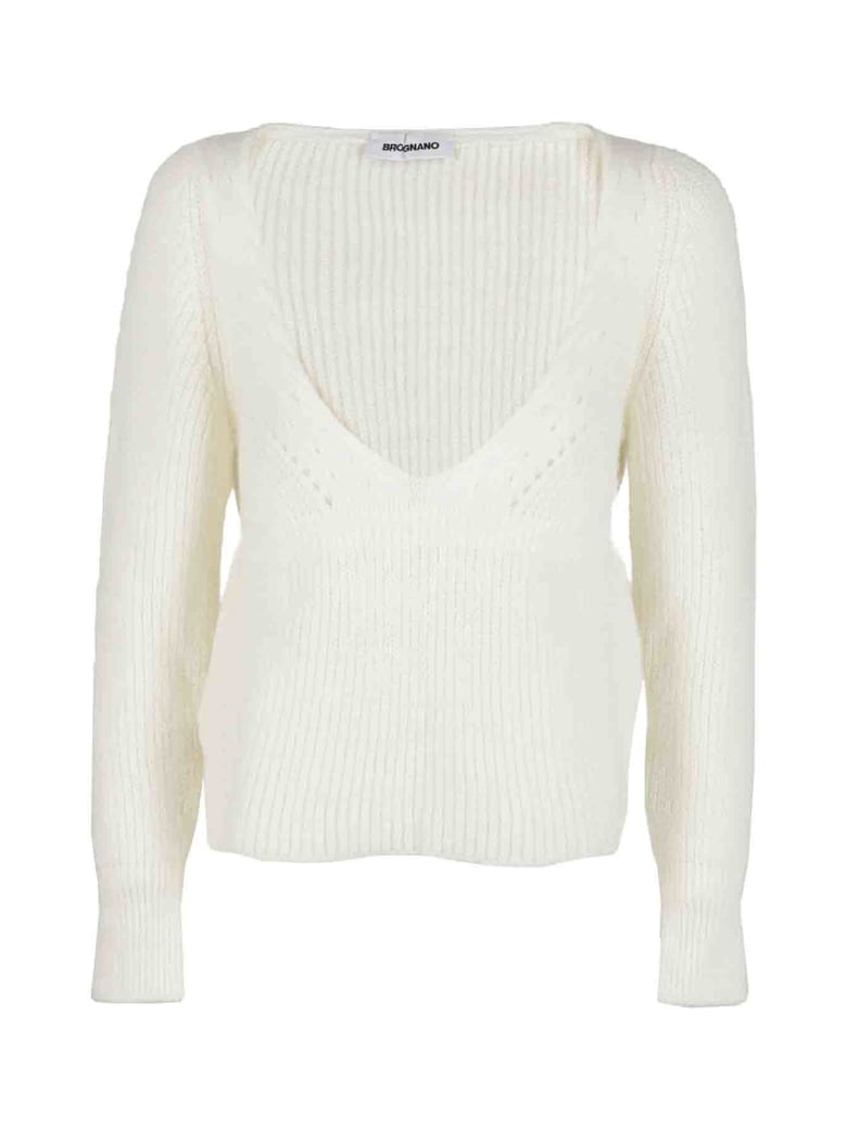 Brognano Sweater - Bianco