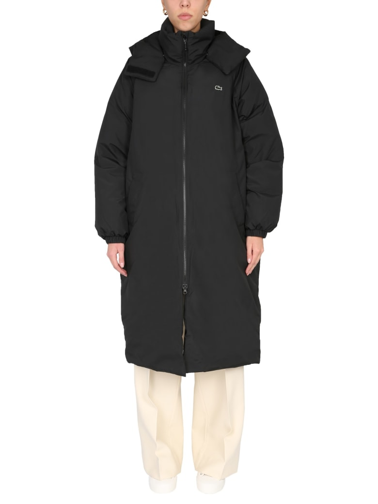 Lacoste Oversize Fit Jacket - NERO