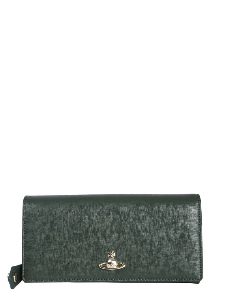 Vivienne Westwood Continental Victoria Wallet - MILITARE