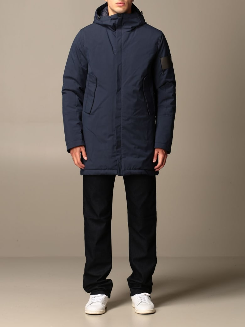 Rossignol Jacket Maxnce Soft Shell Rossignol Parka With Hood - Blue