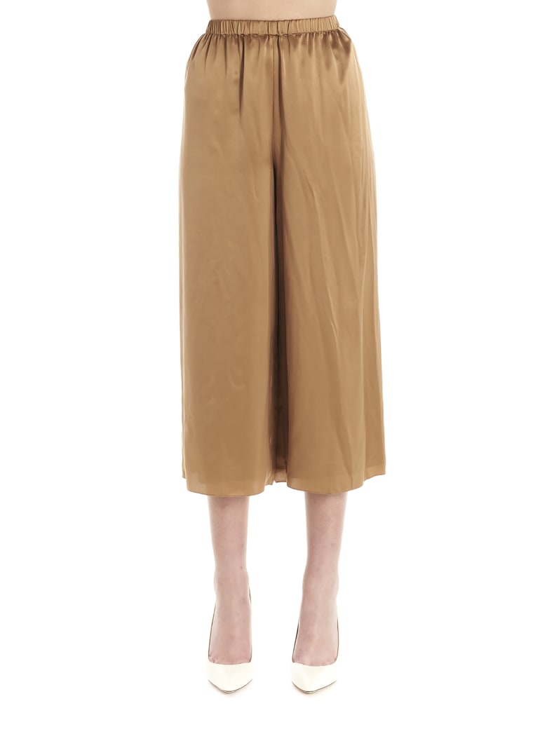 Theory 'fluid Pull On' Pants - Marrone