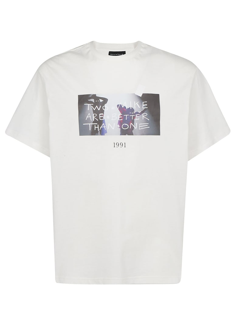 Throwback 1991 T-shirt - Bianco