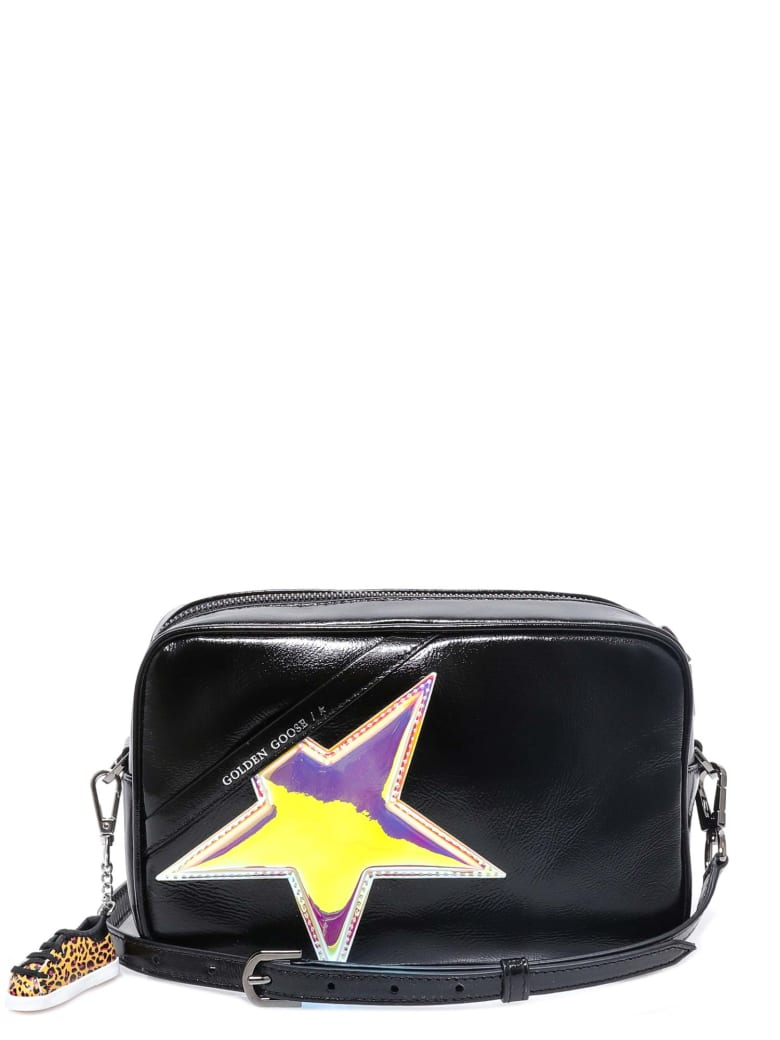Golden Goose Star Bag Shoulder Bag - Black