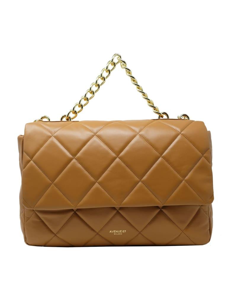 Avenue 67 Leather Clara Bag - TAN