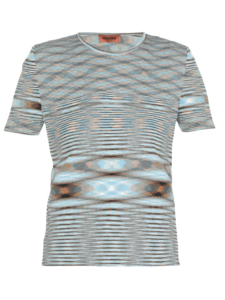 Missoni Multicolor T-shirt - LIGHT BLUE