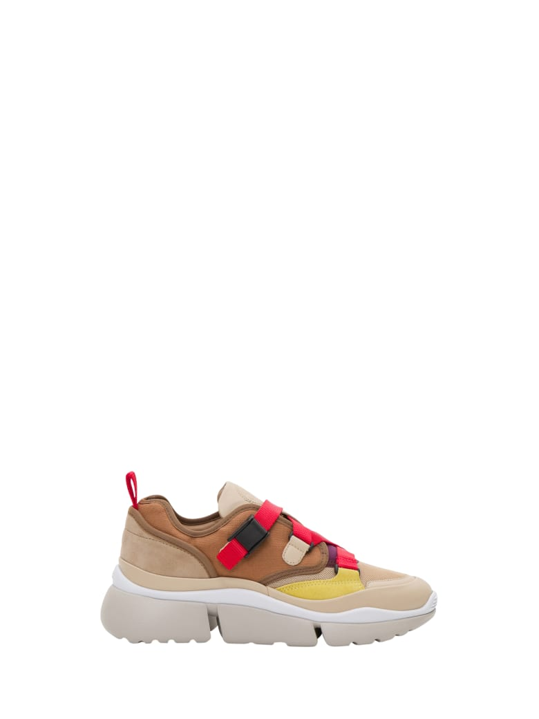 Chloé Sonnie Low-top Sneakers - Rosso