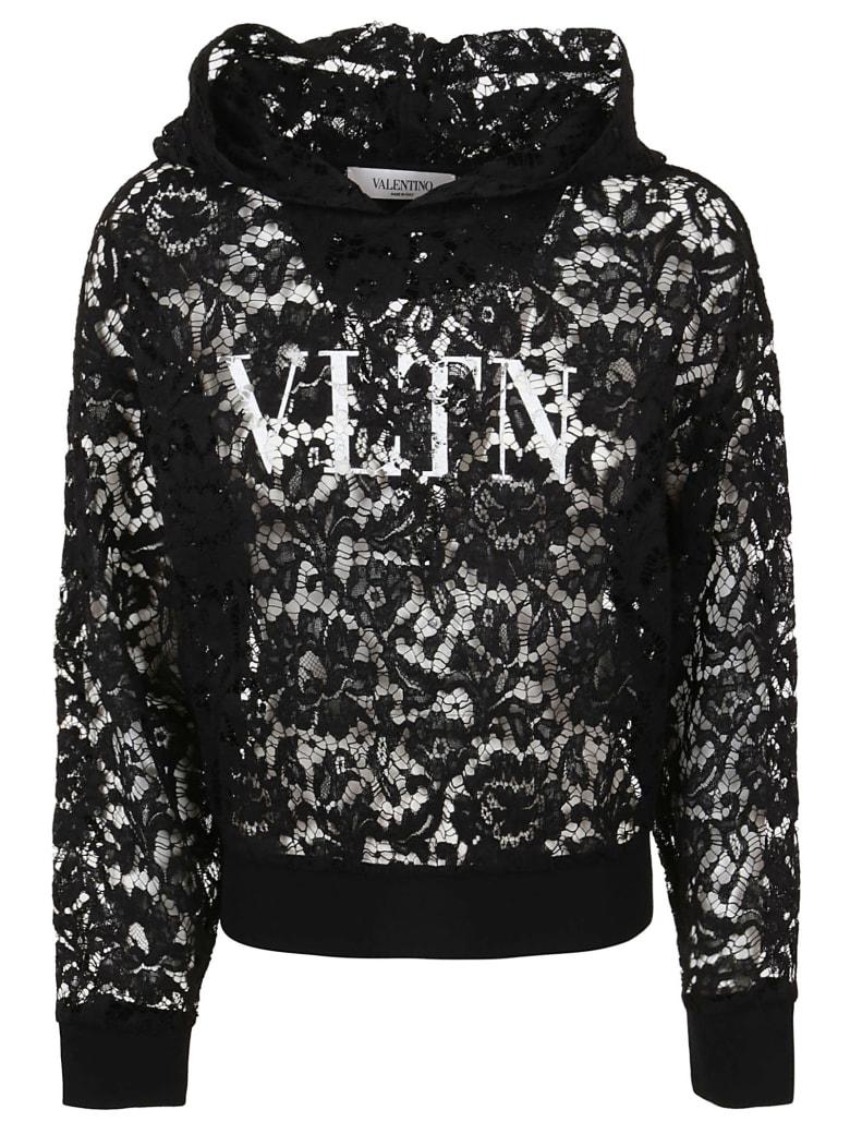 Valentino Jersey Sweatshirt - Ni Nero Bianco