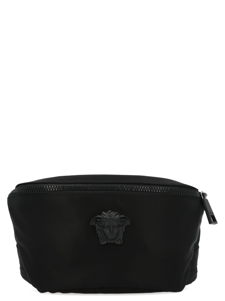 Versace 'medusa' Bag - Black