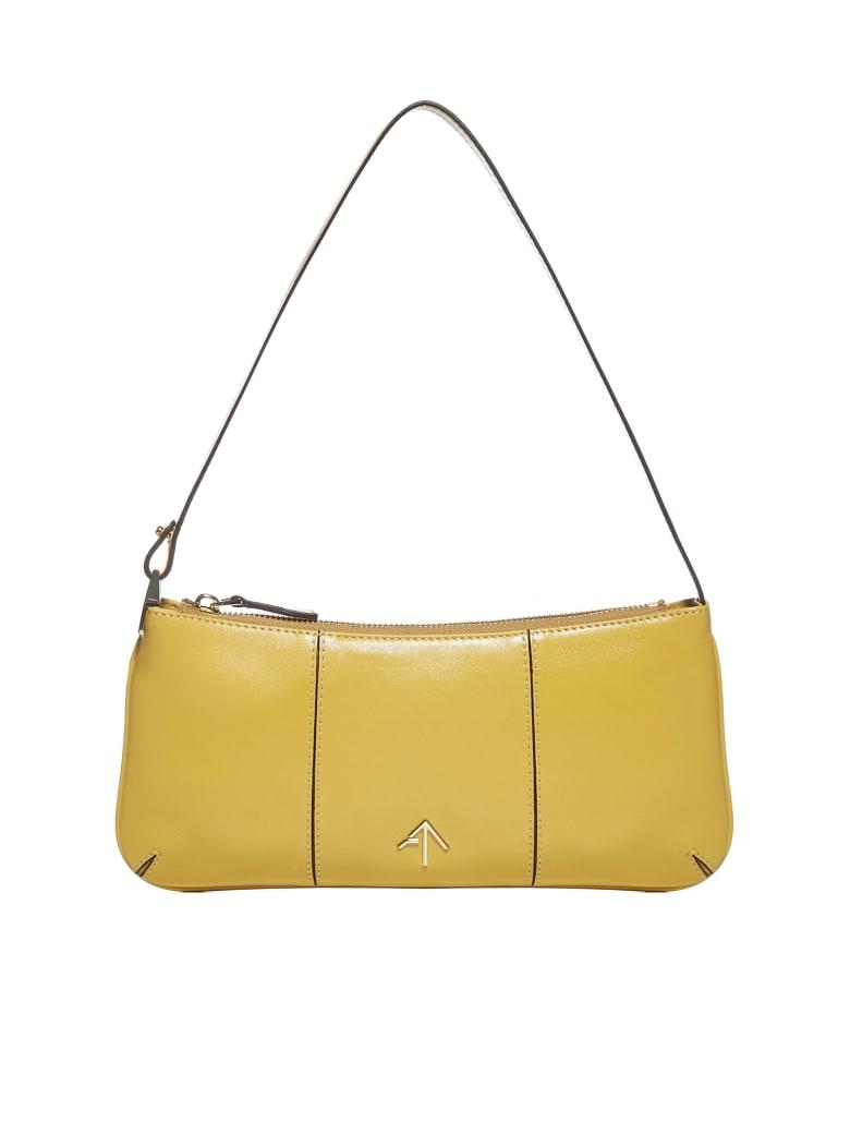 MANU Atelier Pita Leather Bag - Lemon sorbet