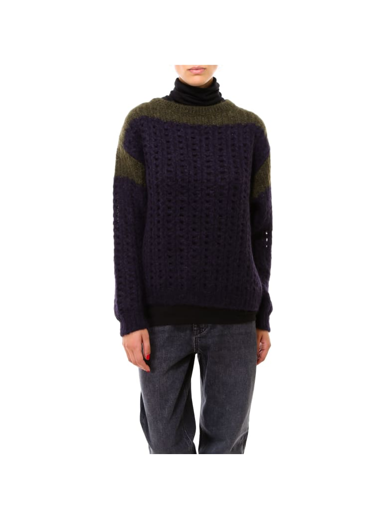 Closed Women S Knit Sweater - Blue