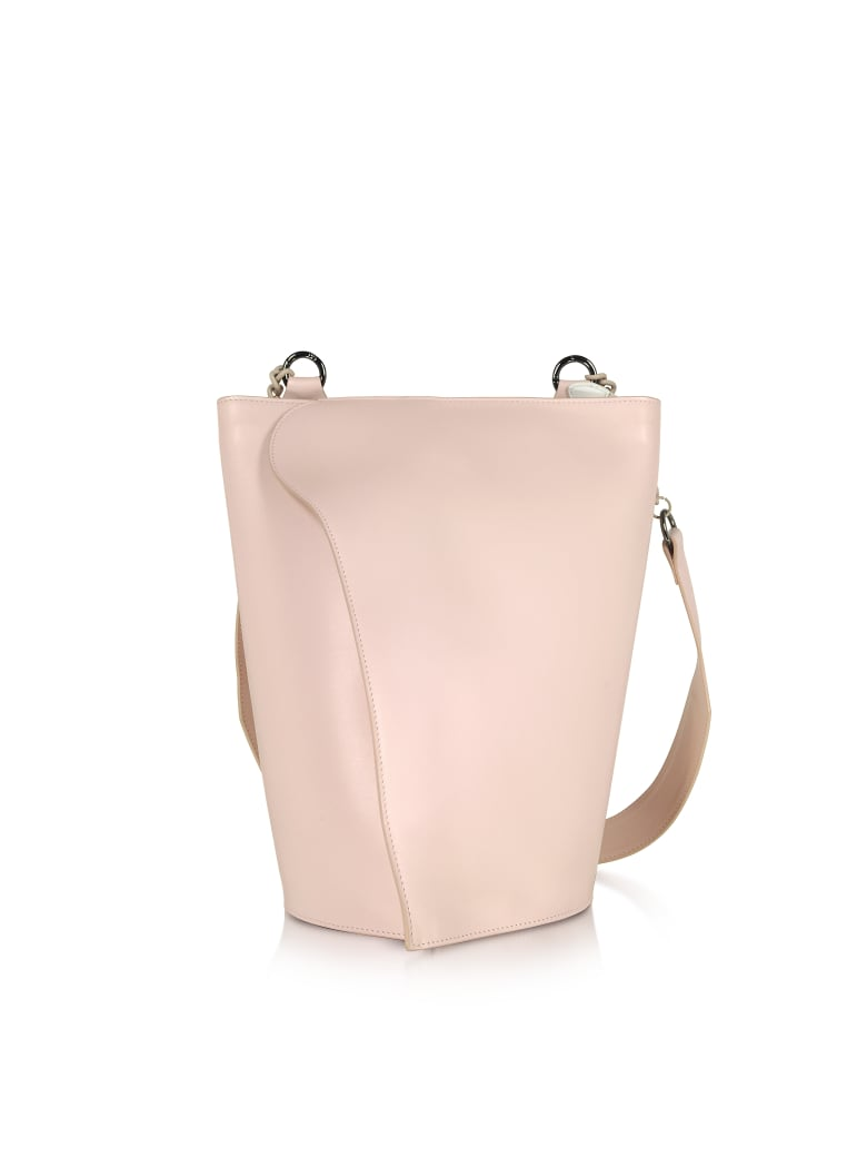 Giaquinto Pink Layla Leather Shoulder Bag - Pink
