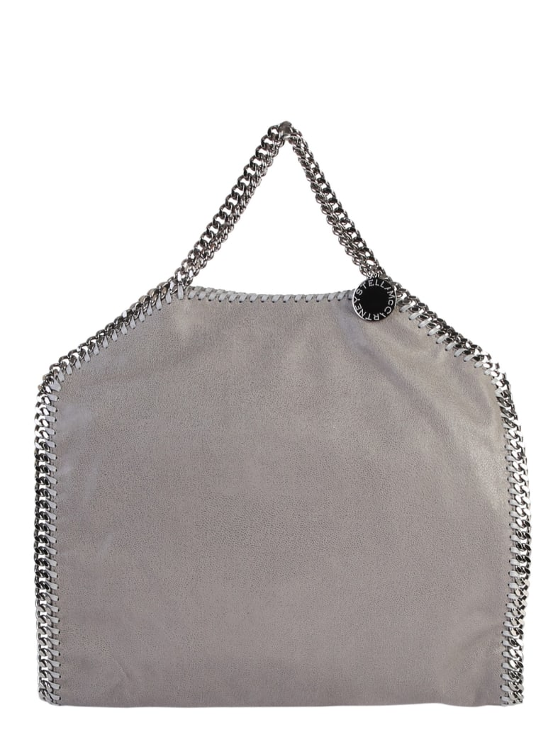 Stella McCartney Grey Falabella Triple Chain Bag - Grigio