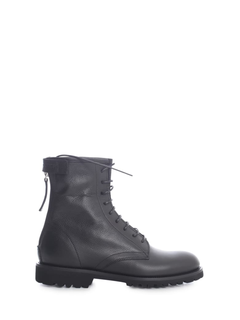 Woolrich Spring Work Ankle Boots - Nero