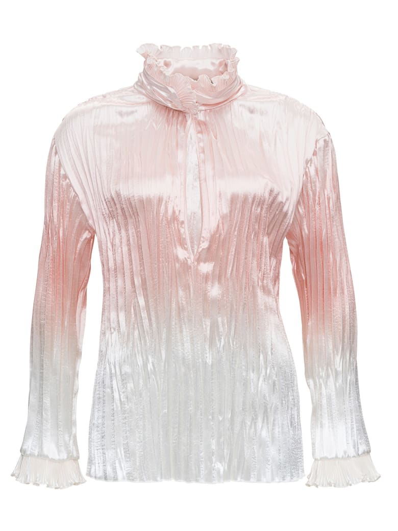 Philosophy di Lorenzo Serafini Pleated Nylon Shirt - Pink