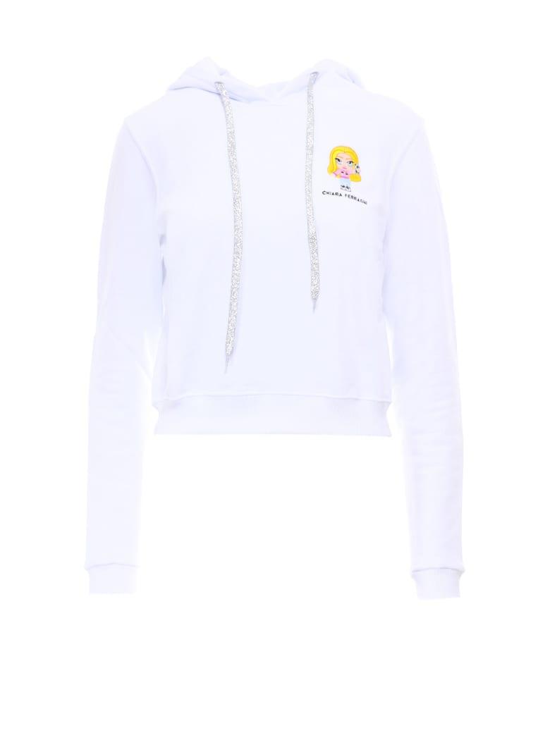 Chiara Ferragni Sweatshirt - White
