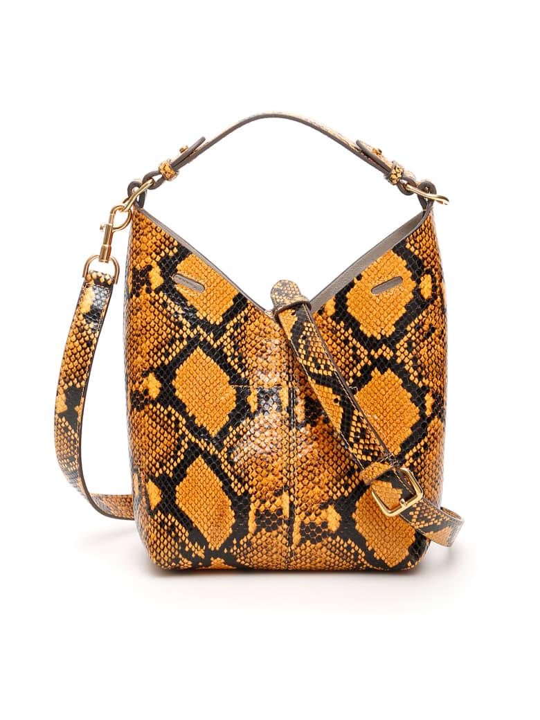 Anya Hindmarch Python Prnt Mini Build A Bag - YELLOW (Orange)