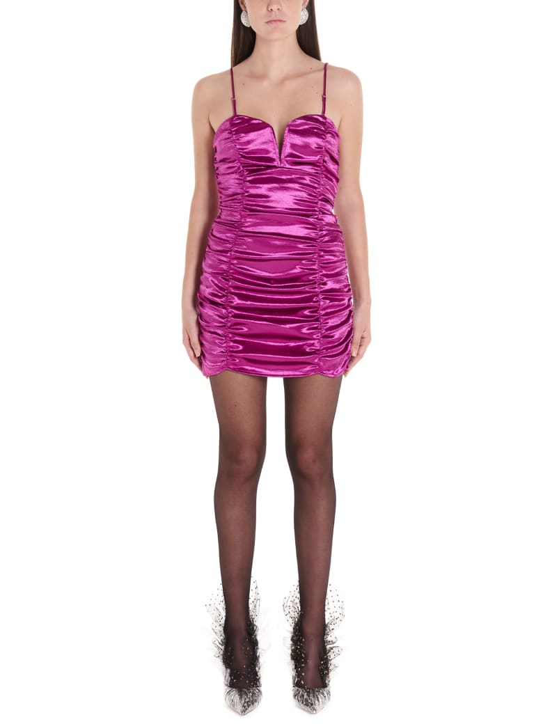 For Love & Lemons 'stevie Metallic' Dress - Purple