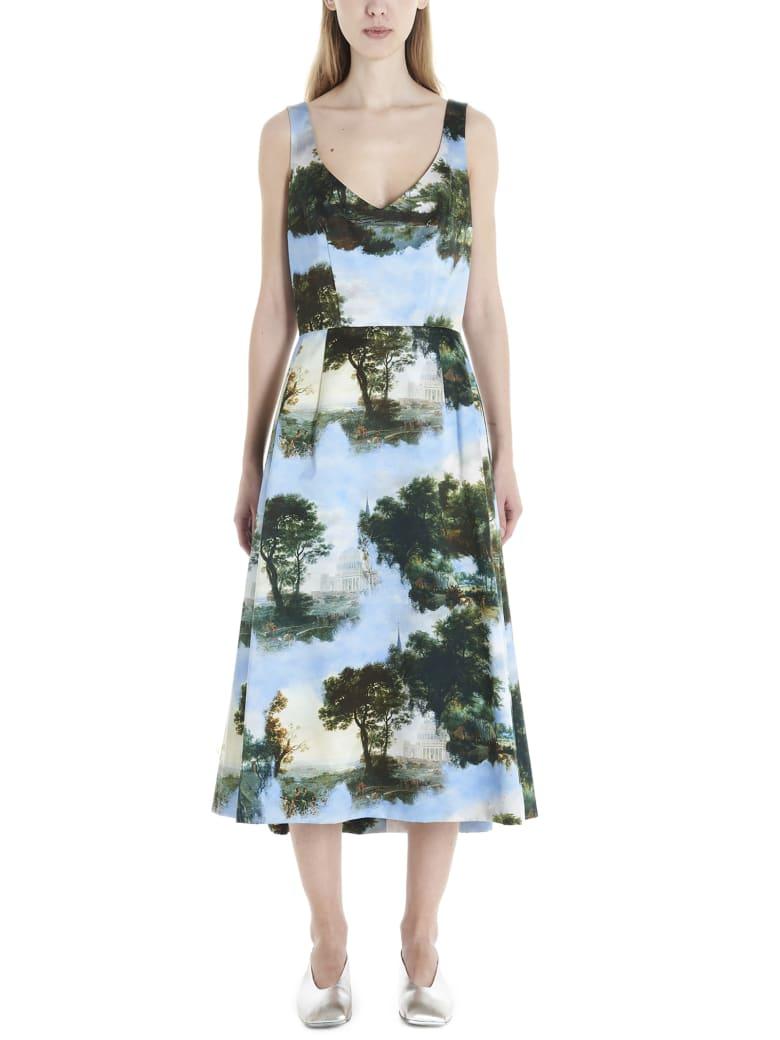 Comme des Garçons 'landscape' Dress - Multicolor