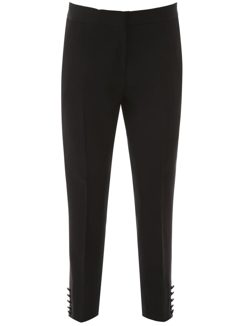 Burberry Hanover Trousers - BLACK (Black)