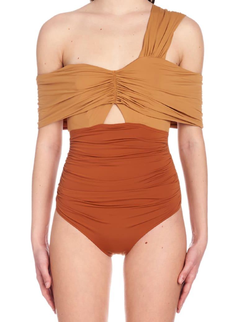 self-portrait Swimsuits - Brown