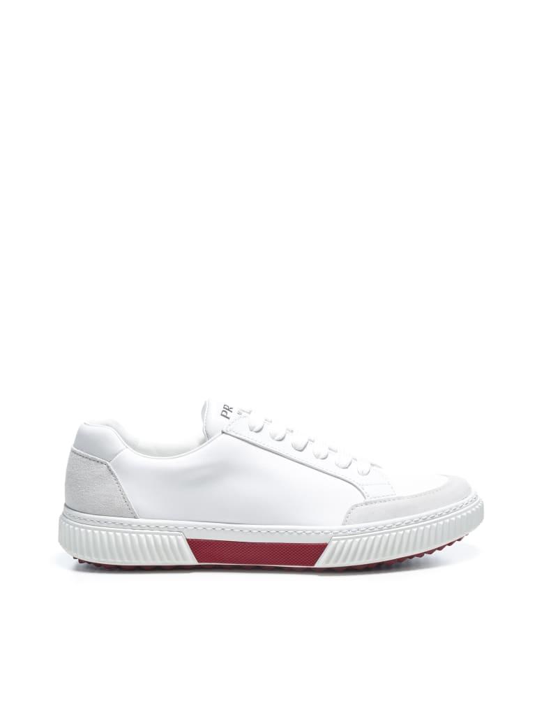 Prada Linea Rossa Stratus Sneakers - Talco rubino