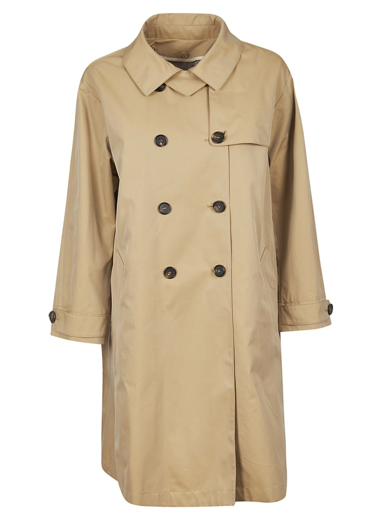 Max Mara The Cube Double-breasted Trench - Desert