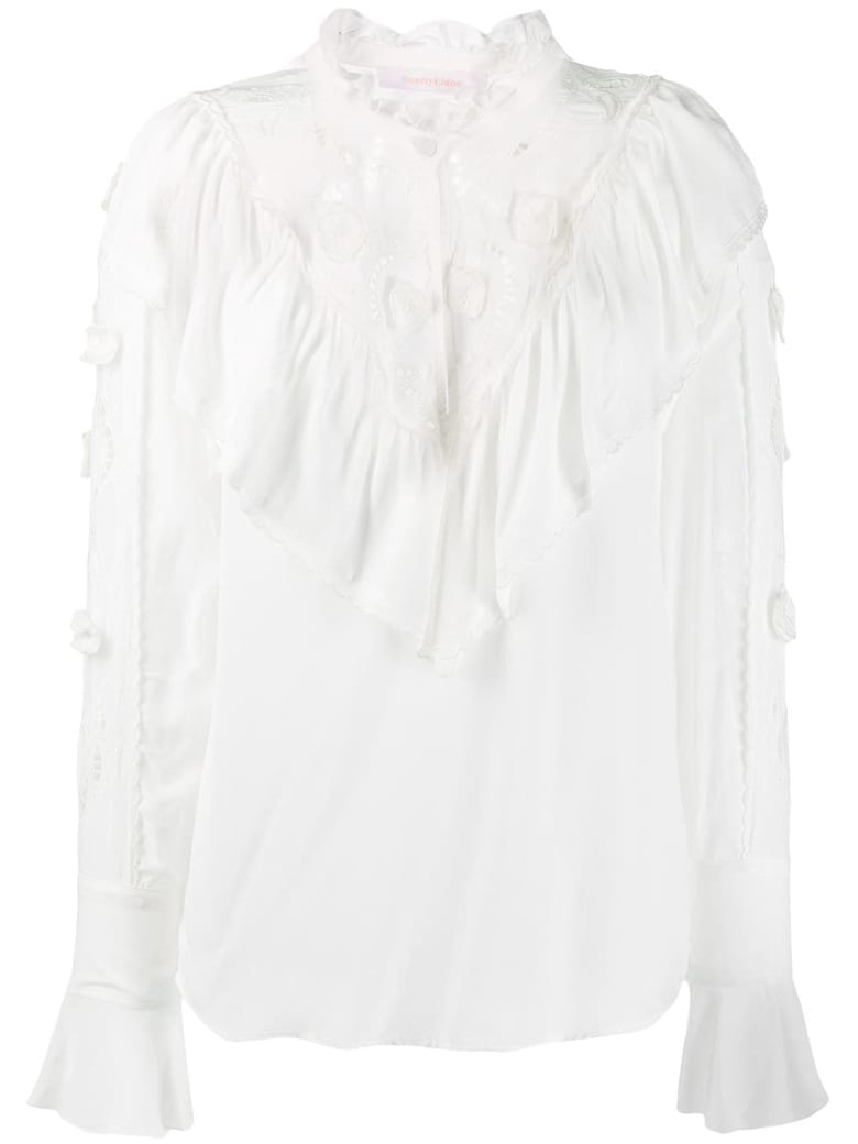 See by Chloé Top - Iconic Milk