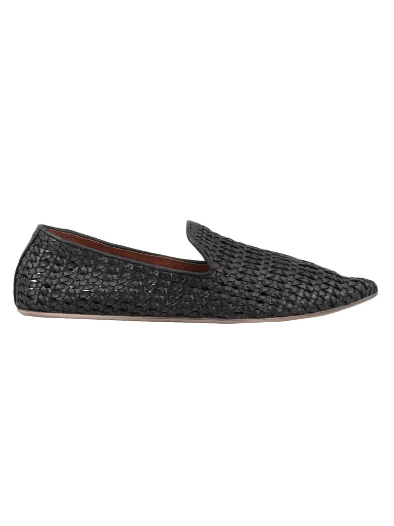 Marsell Leather Loafer - BLACK
