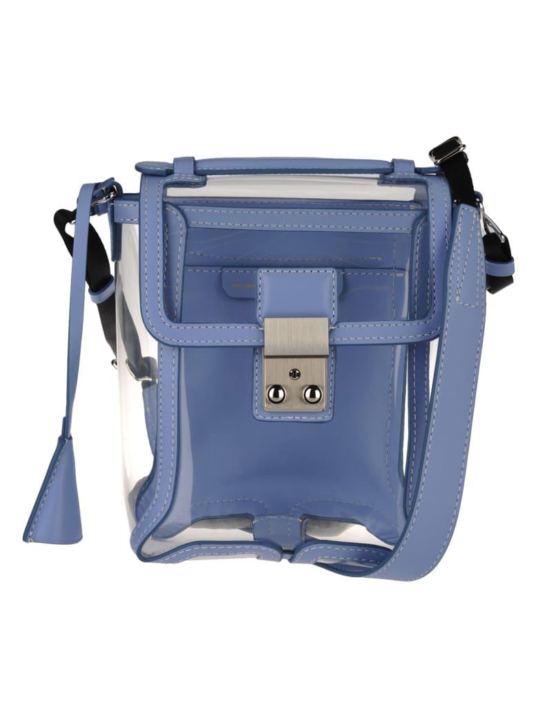 3.1 Phillip Lim Phillip Lim Transparent Pashli Camera Bag - LIGHT BLU