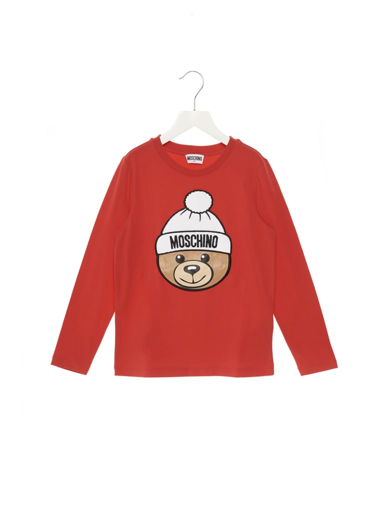 Moschino 'teddy' T-shirt - Red