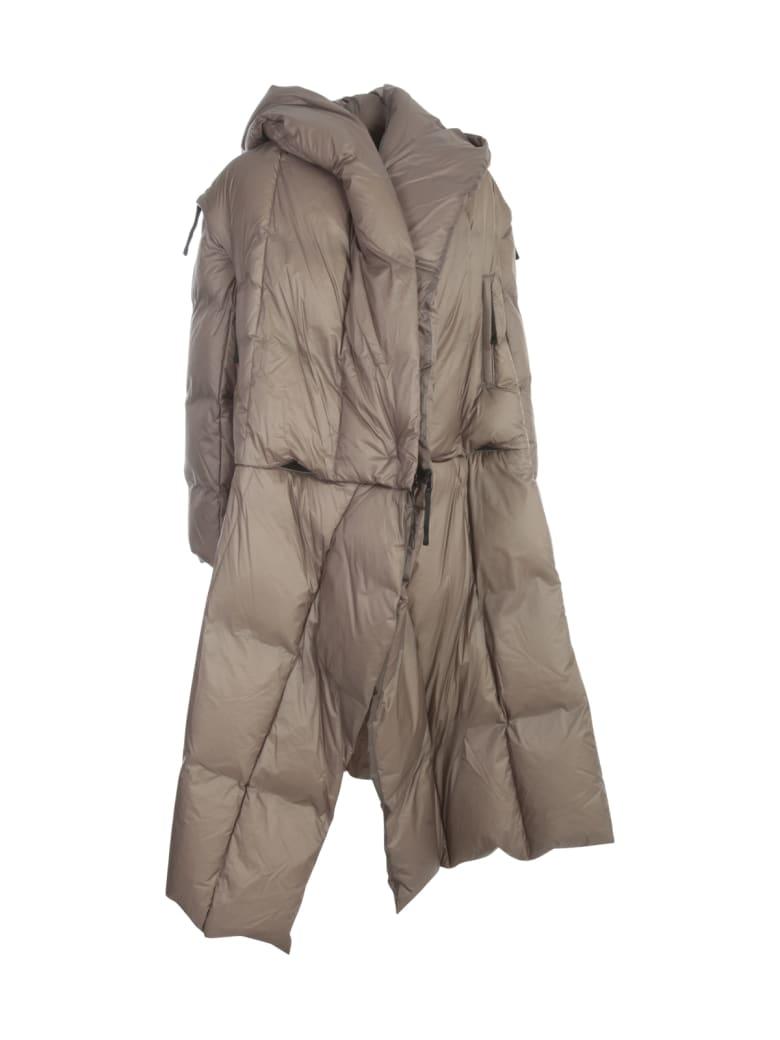 Issey Miyake Transform Long Padded Coat - Gray