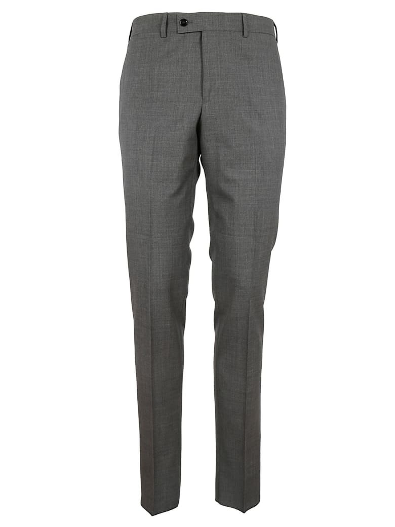 Massimo Piombo Slim Fit Pants - Light Grey