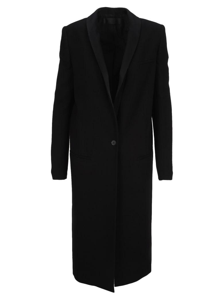 Haider Ackermann Single Breasted Tuxedo Coat - BLACK