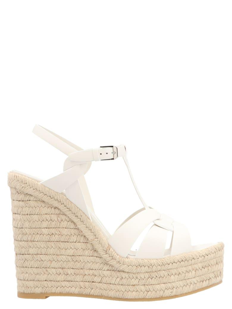 Saint Laurent 'tribute' Shoes - White