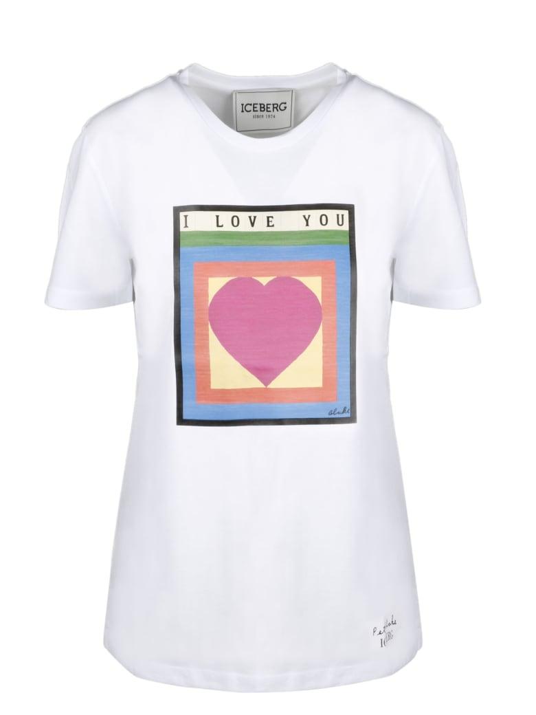 Iceberg Short Sleeve T-Shirt - White