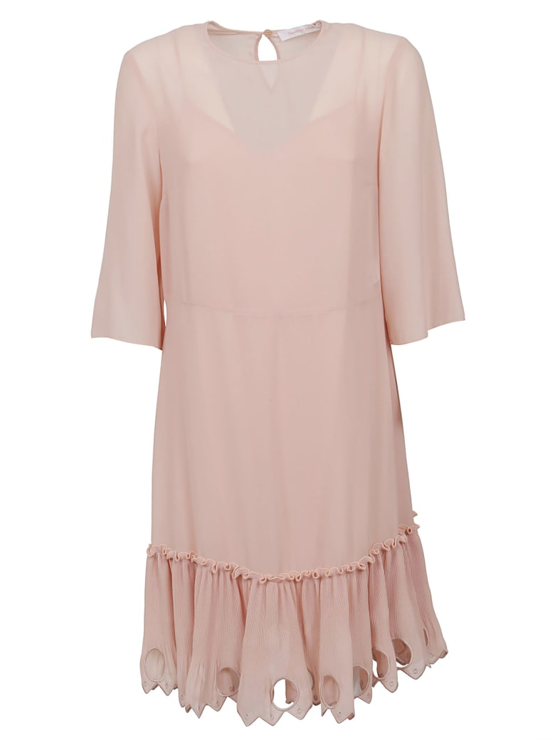 See by Chloé Dress - Smoky Pink