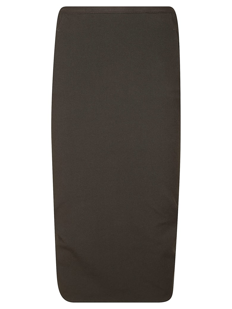 Rick Owens Mid-length Skirt - Anthracite