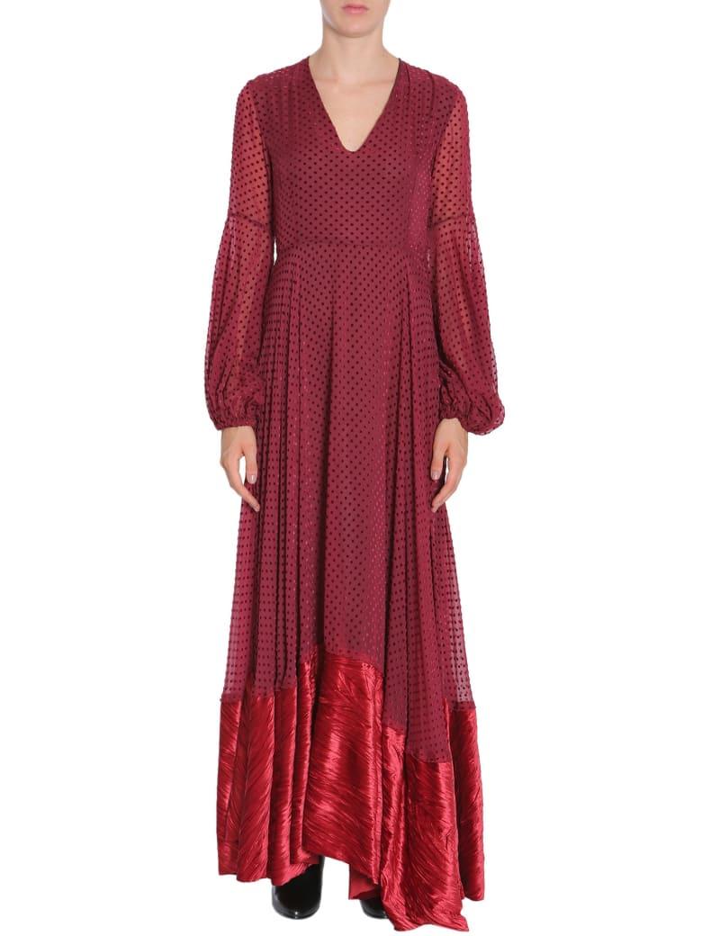 Ainea Long Dress - BORDEAUX