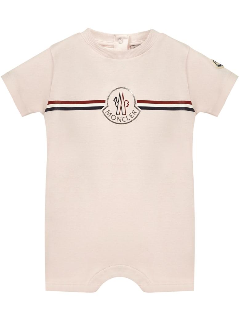 Moncler Enfant Romper - Pink