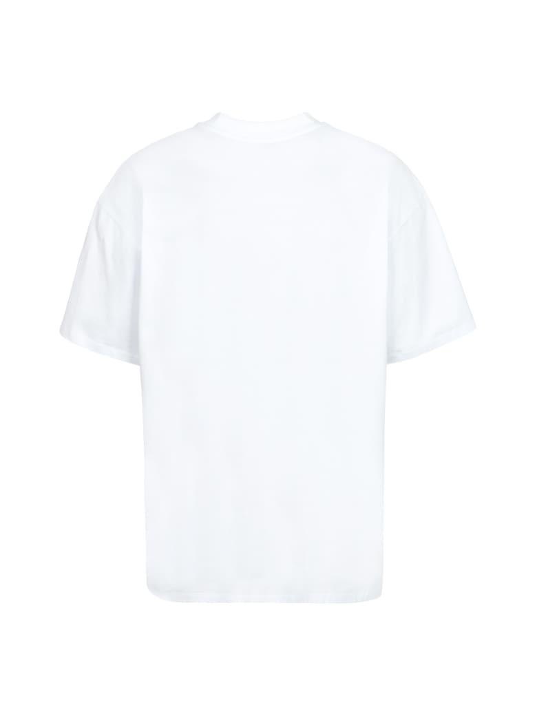 MSGM Oversize T-shirt - Msgm X Isabella Santacroce - White