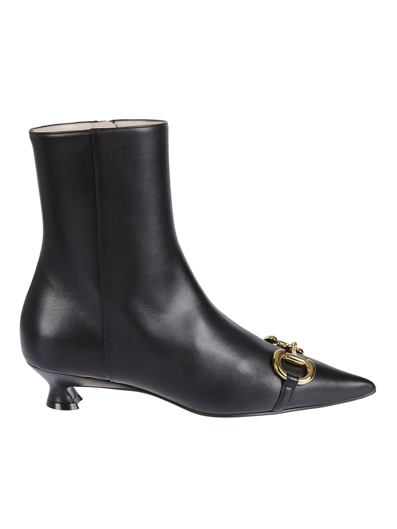 Gucci Charlotte Ankle Boots - Black