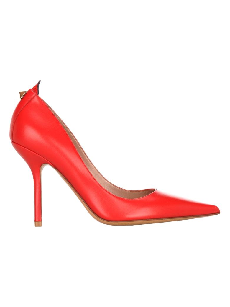 Valentino Stud Pumps - RED
