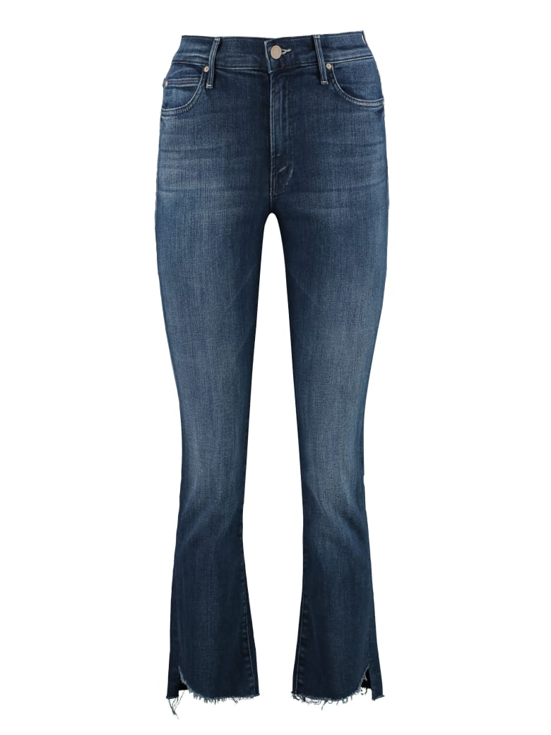 Mother Rascal Cropped Jeans - Denim