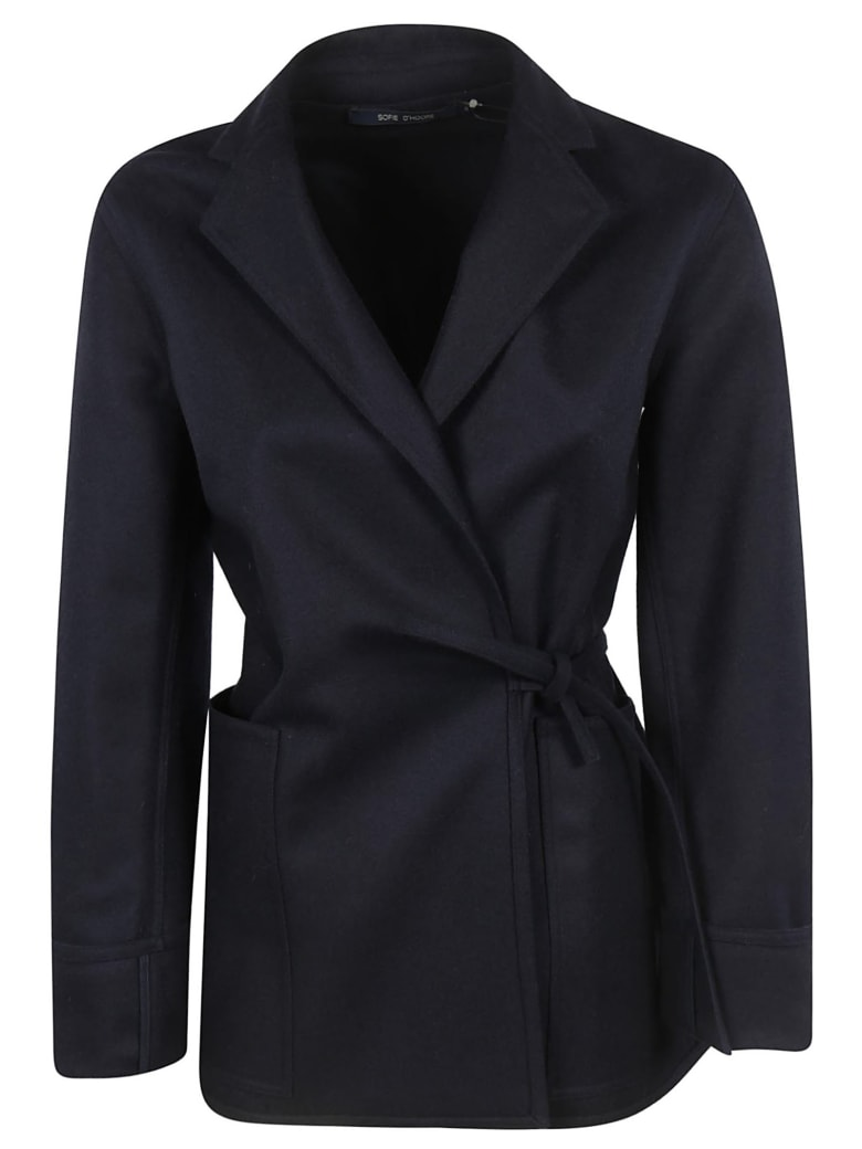 Sofie d'Hoore Cleva Jacket - Navy