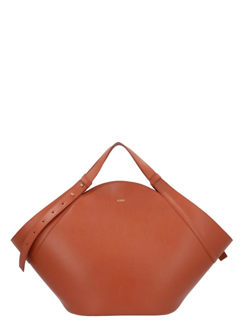 YUZEFI 'basket' Bag - Brown