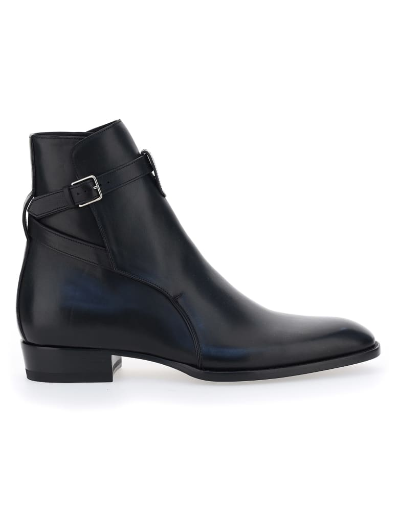 Saint Laurent Wyatt' Boots - Nero
