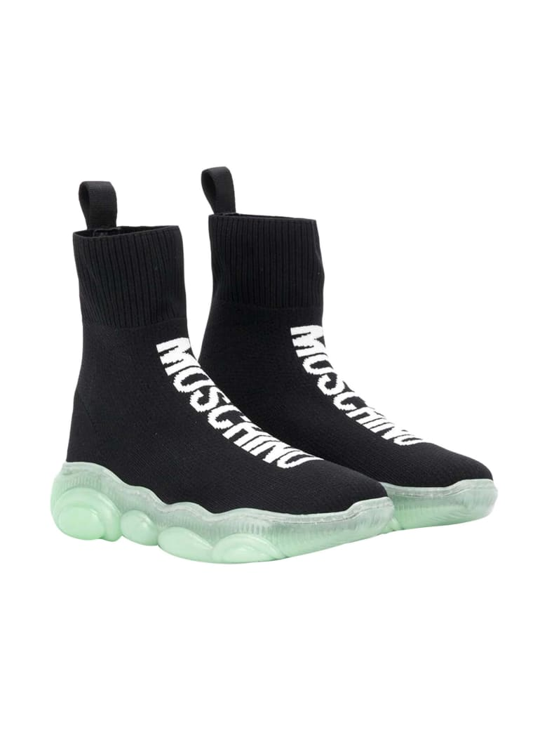 Moschino Socks Sneakers Nere - Nero