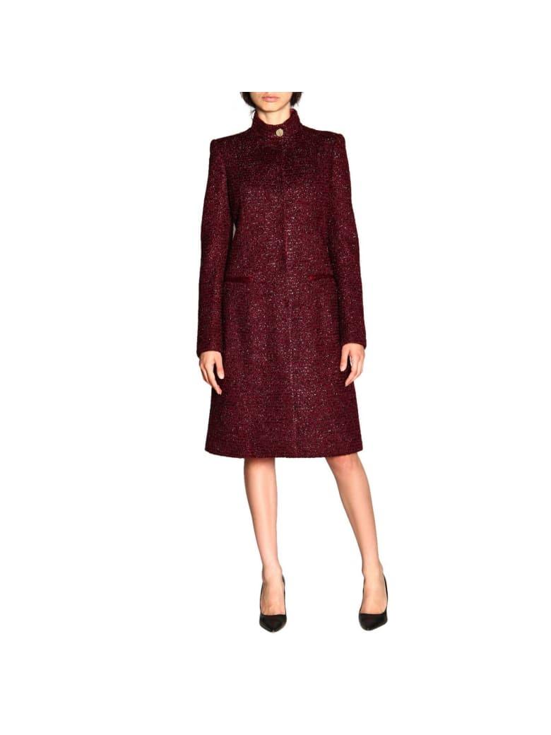 Just Cavalli Coat Coat Women Just Cavalli - plum