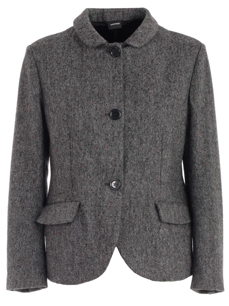 purchase cheap 5bfd0 79e15 Aspesi Jacket Short Shetland